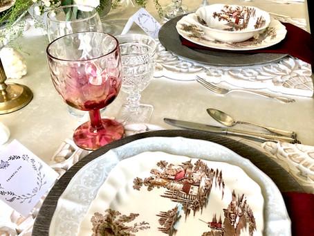 Let's talk Thanksgiving Tables