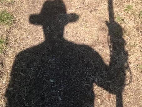 Promenade avec une ombre ...