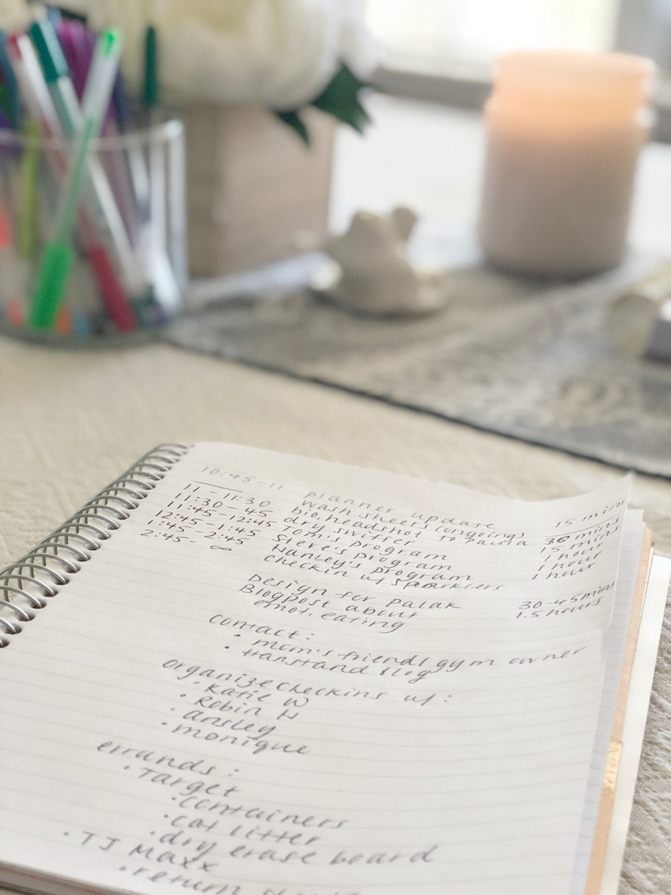 Never-ending to-do list?  Check everything off with ONE easy step!