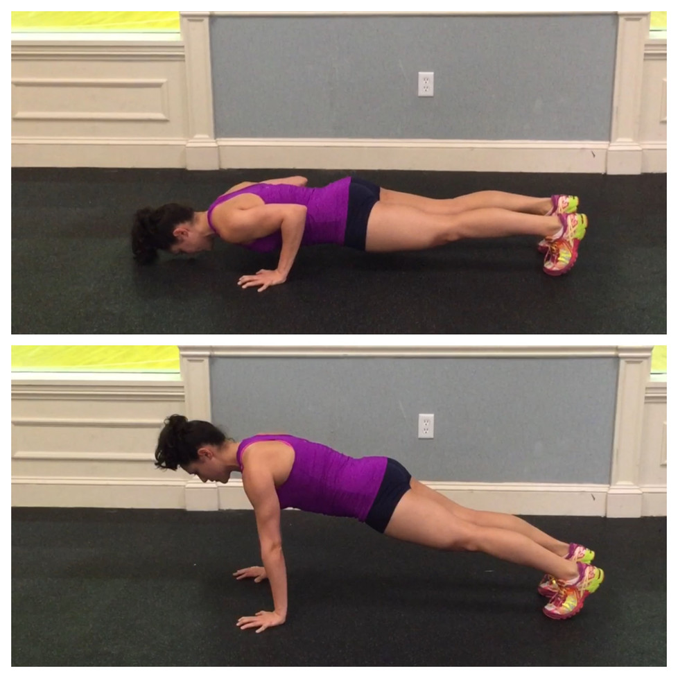 3 Steps to Mastering the Push-Up