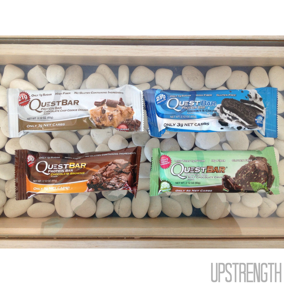 Best travel snack: QUEST bars