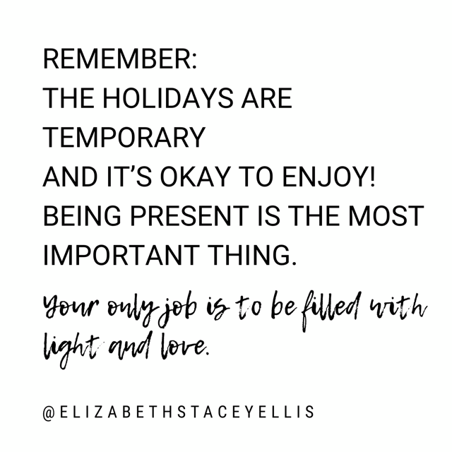 How to grant yourself grace this holiday
