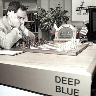 1997 - Deep Blue Wins in Chess.