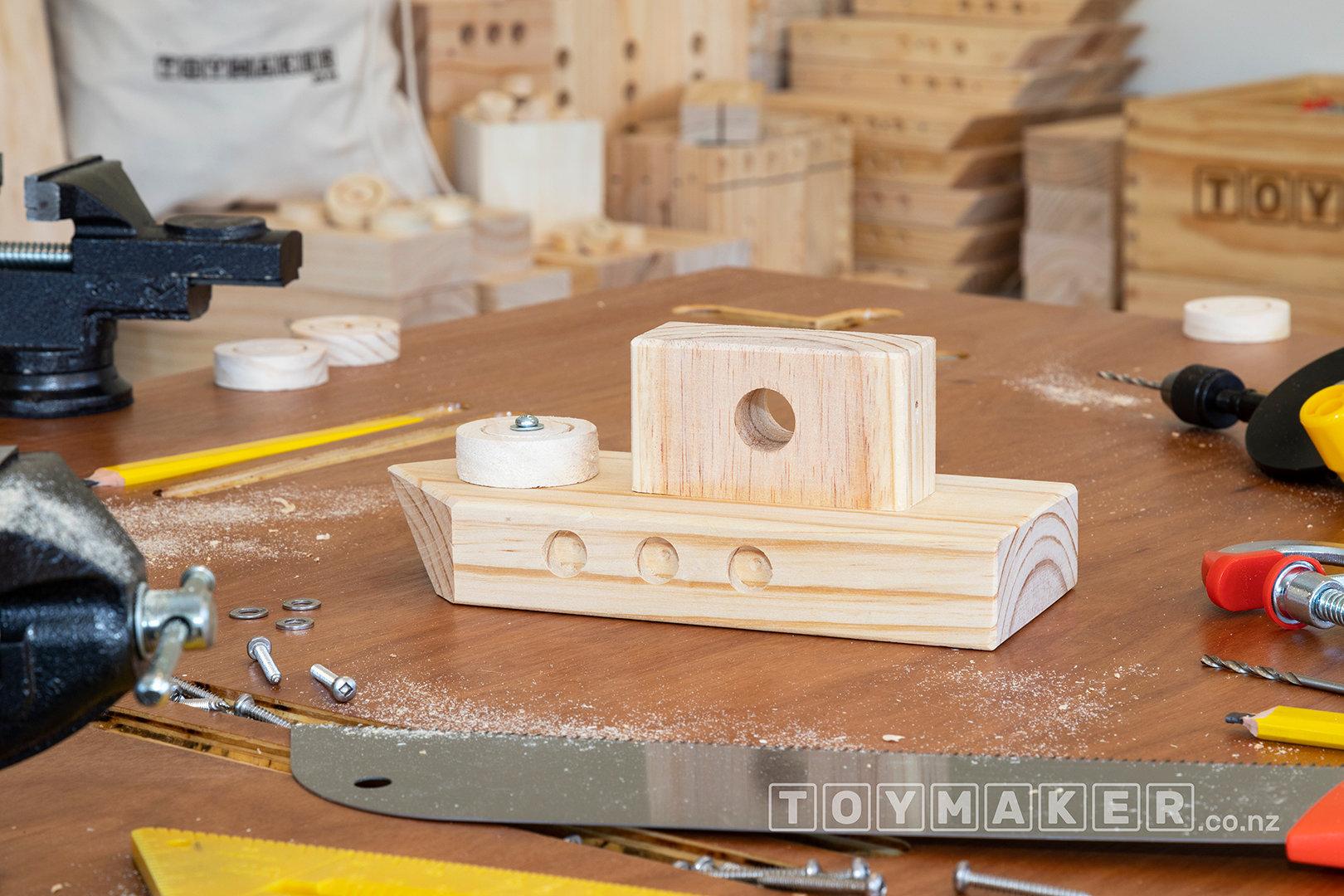Make a Wooden Boat | PETONE