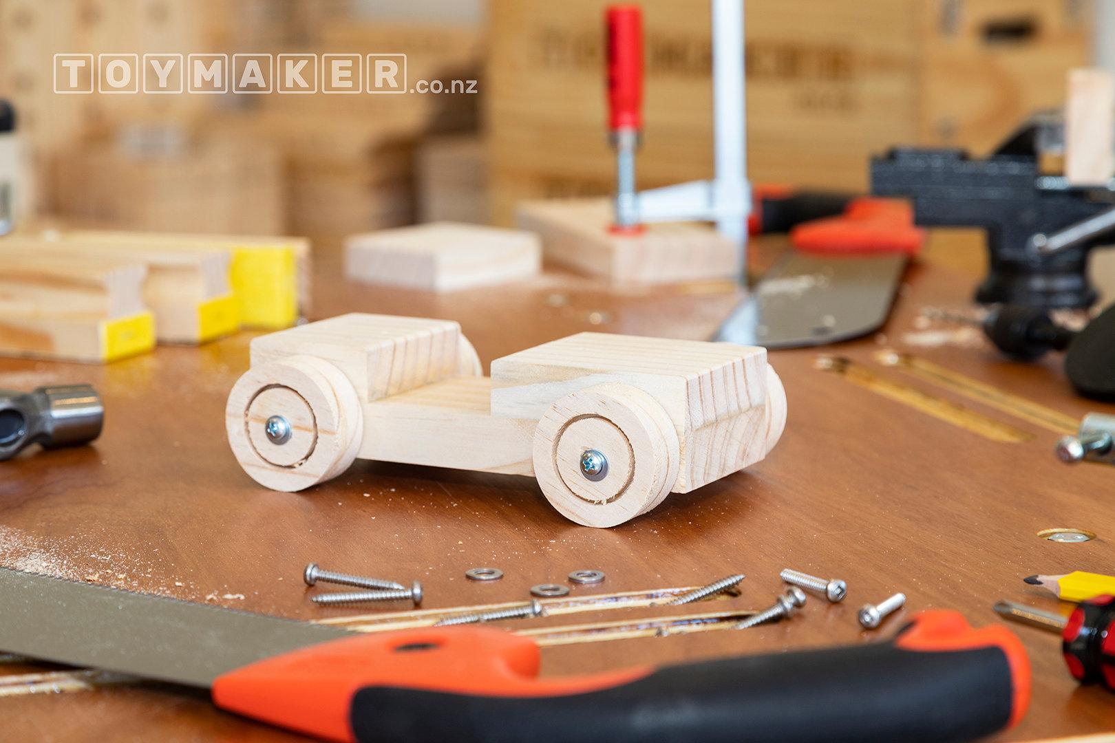 Make a Wooden Racing Car | PETONE