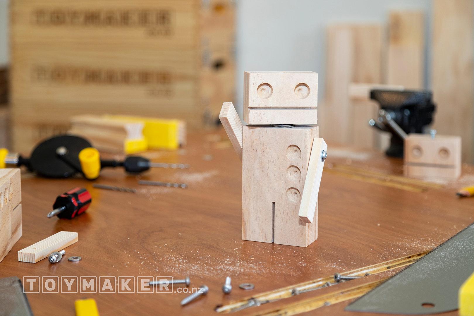 Make a Wooden Robot  | PETONE