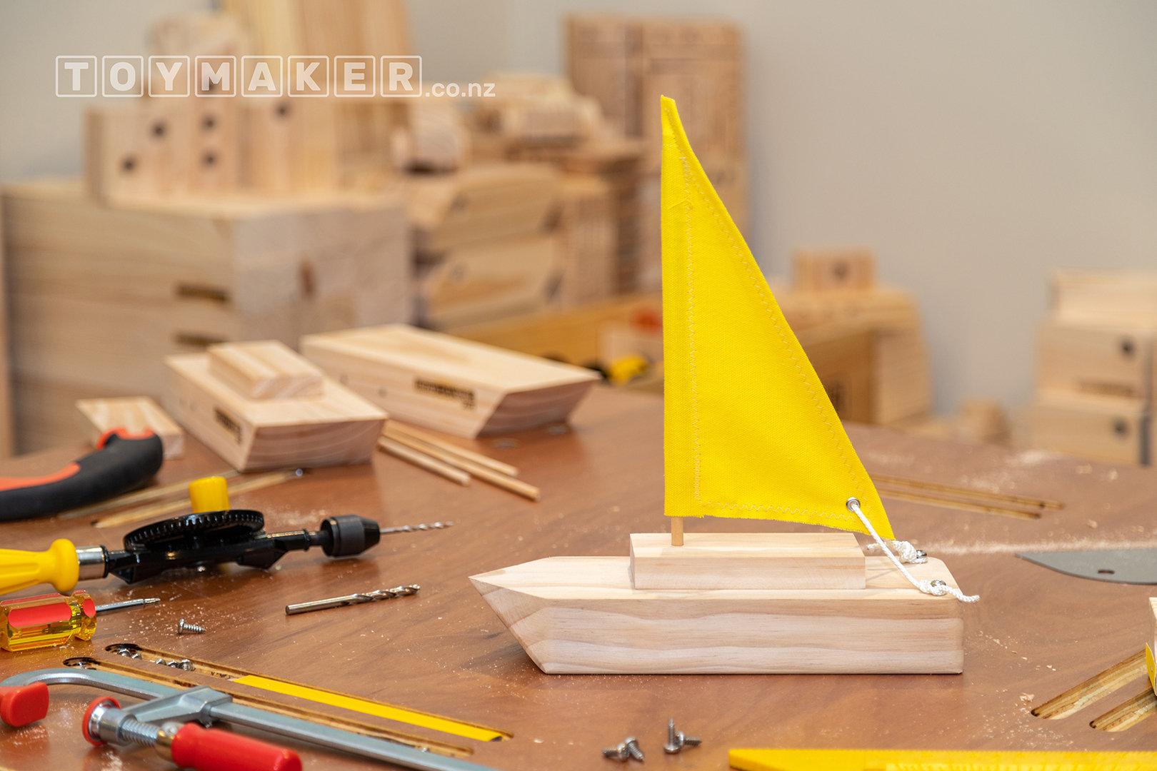 Make a Wooden Sailboat | PETONE