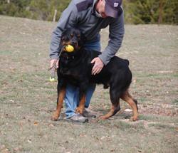 Duke with Ken Stupak
