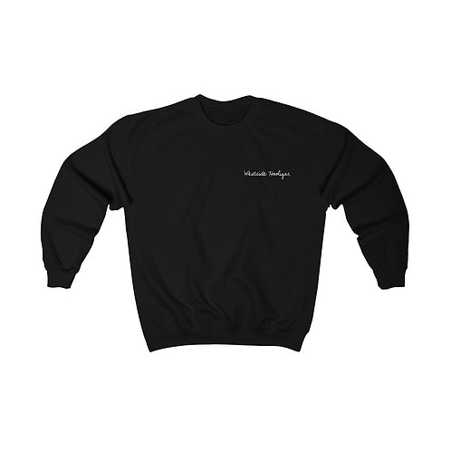 Hooligan Script Embroidered Crew