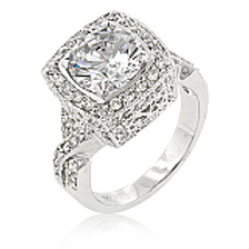 PALISADES CLASSIC CLEAR RING
