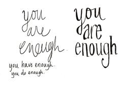 sketch you are enough-01