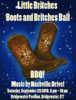 Poster design for Boots & Britches Ball 2018