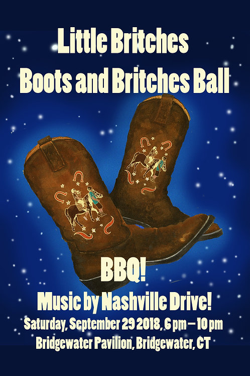 Boots & Britches Ball -- Ticket