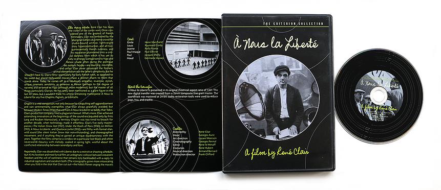 dvd packaging | Criterion Nous Liberte