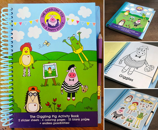 activity book | The Giggling Pig