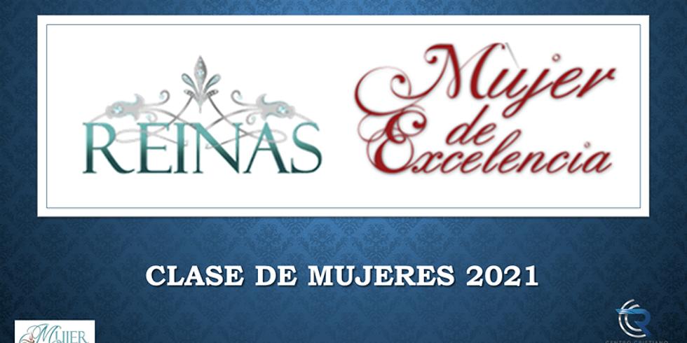 CLASES DE REINAS Y MUJER DE EXCELENCIA