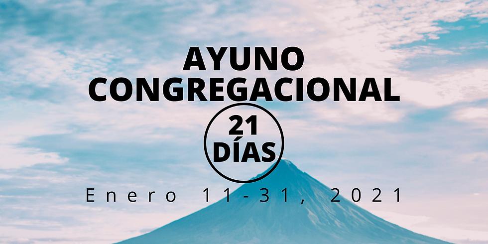 AYUNO CONGREGACIONAL 21 DIAS