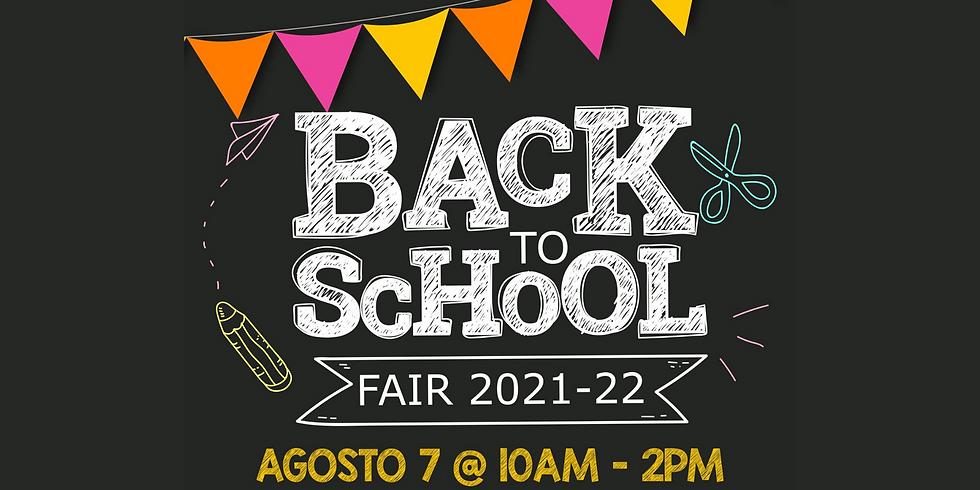 Back to School Fair 2021-22
