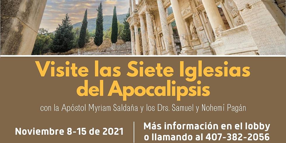 Viaje a las Siete Iglesias del Apocalipsis