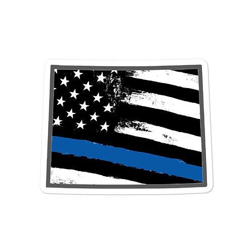 Wyoming Blue Line