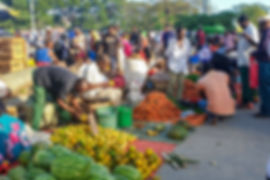 Vegetable stalls at the market | Stone Town | Zanzibar | Tazania | Shots and Tales