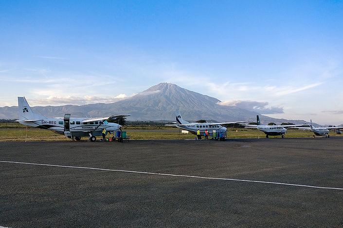 Arusha Airport | Kilimanjaro Mountain | Tanzania | Shots and Tales