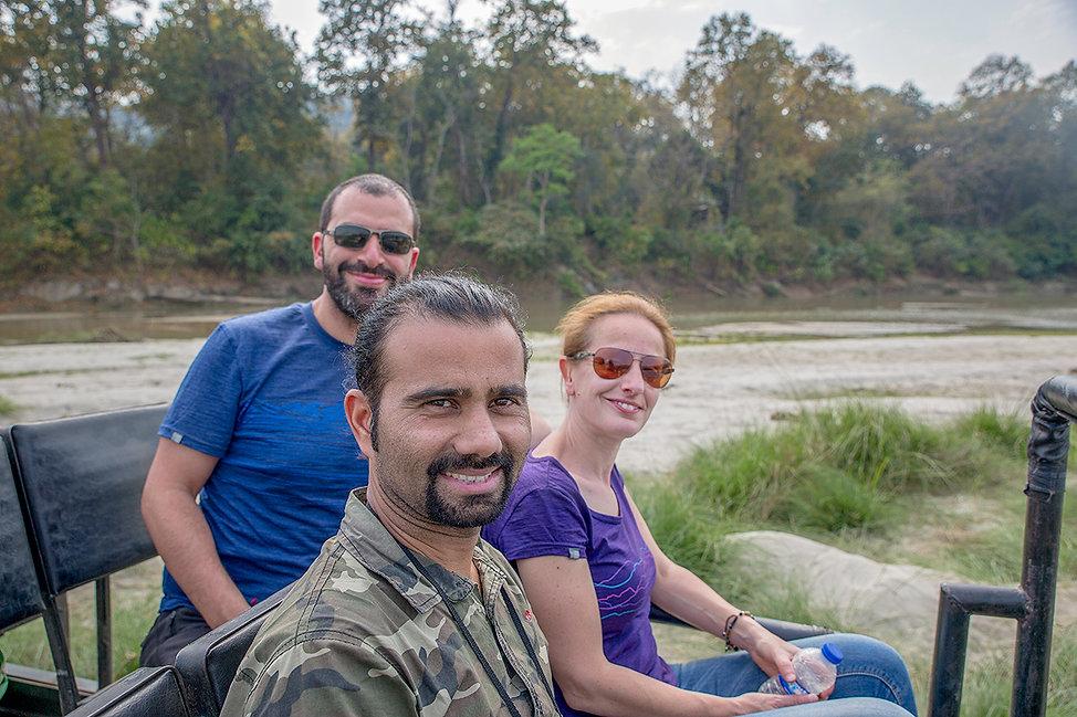 Full day jeep safari with Bijay Giri from Wildlife Adventure Tours, Nepal