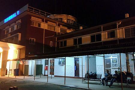Internal Flights Terminal 1 at night - Dar es Salaam Airport | Tanzania | Shots and Tales