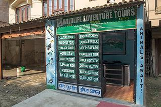 Wildlife Adventure Tours Office, Sauraha, Nepal