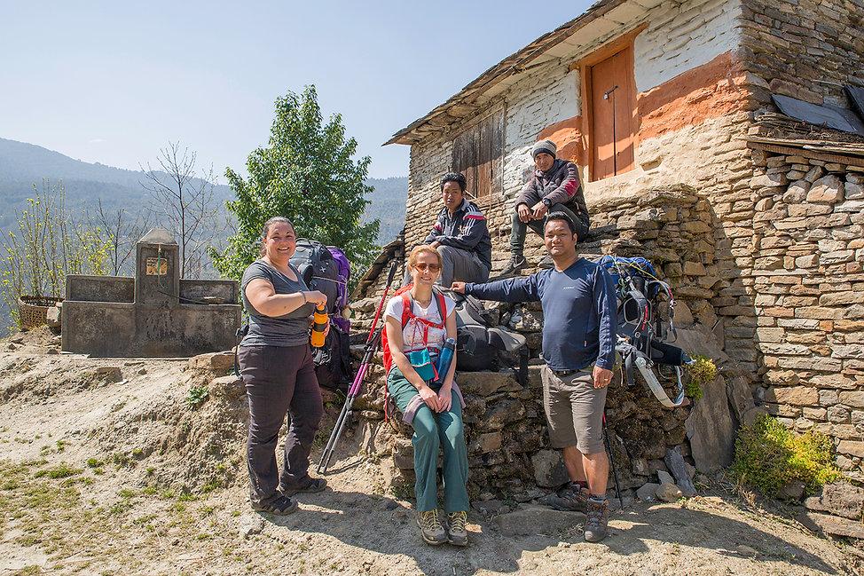Lukesh Tilija Pun, Bam Purja Pun and Gam Paiga Pun Trekking in Annapurna-Dhaulagiri Community Trail Nepal