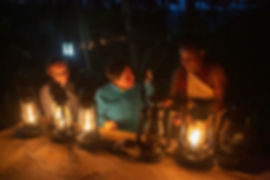 Lighting a fire | Kiboko Lodge | Tanzania | Arusha | Shots and Tales