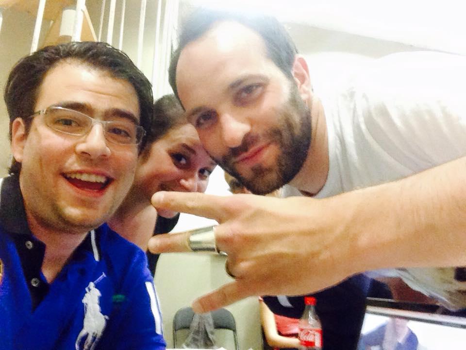 Giuseppe, Max et une élève