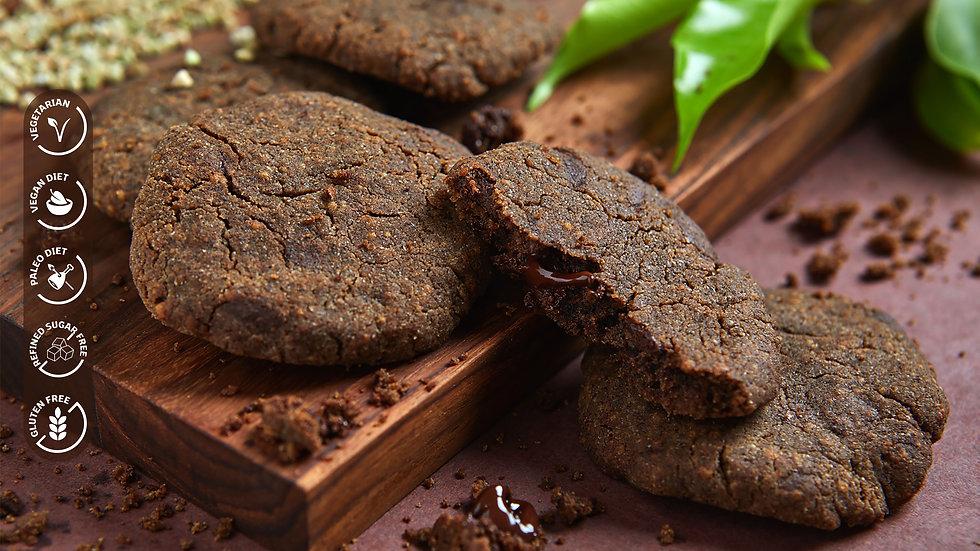Vegan Buckwheat Chocolate Chip Cookies