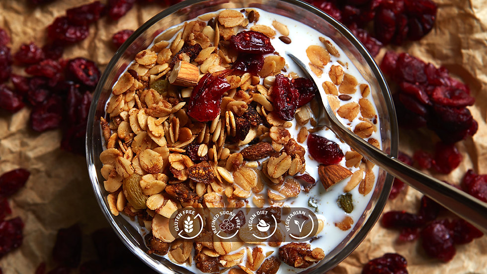 Mixed Nuts and Seeds Granola