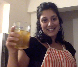Make a glass of lemonade at home.