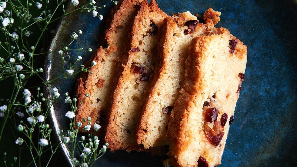 Cranberry & Orange Loaf Cake