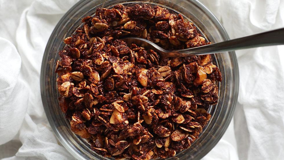 Raw Cacao, Coconut & Walnut Granola