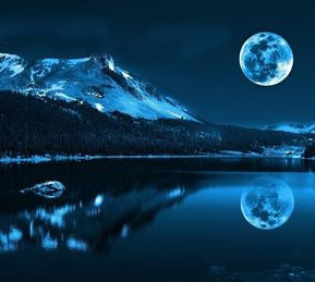 The enchanting tale of a full moon night