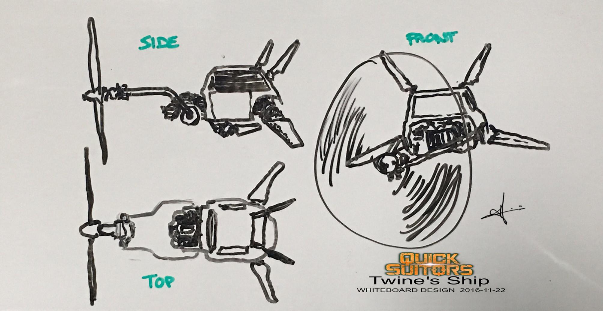 Twine's Ship Concept 2