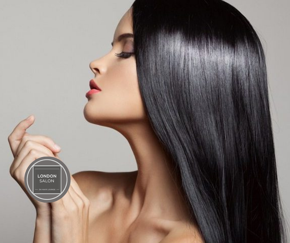 MEDIUM HAIR Keratin Smoothing Treatment