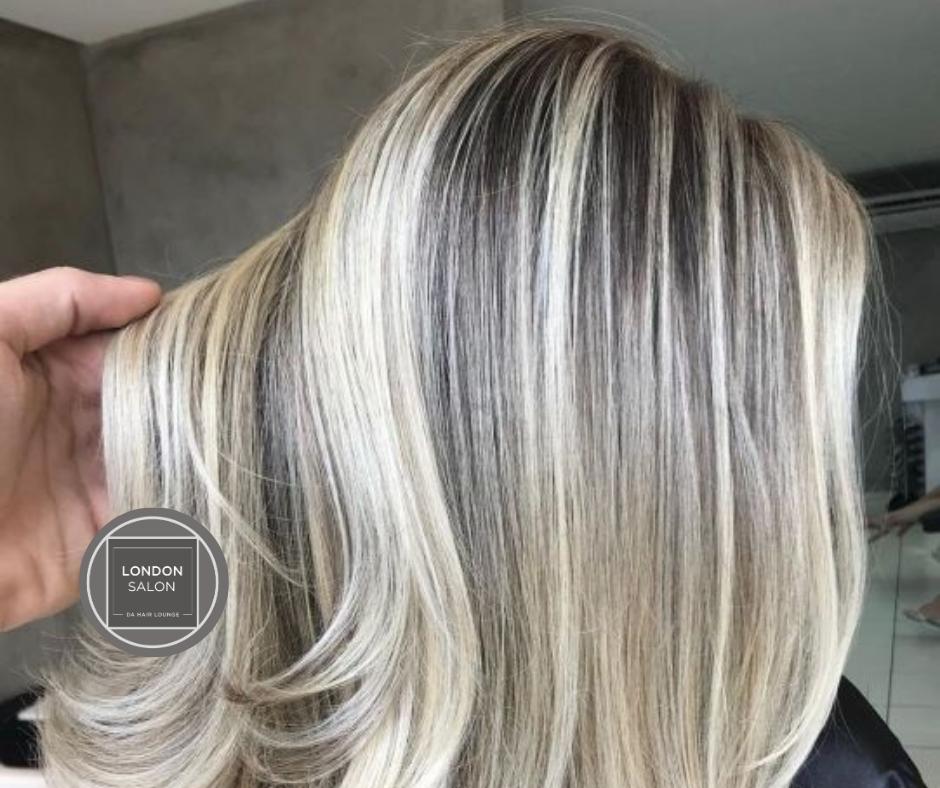 Half-head foils+Treatment at London Hair