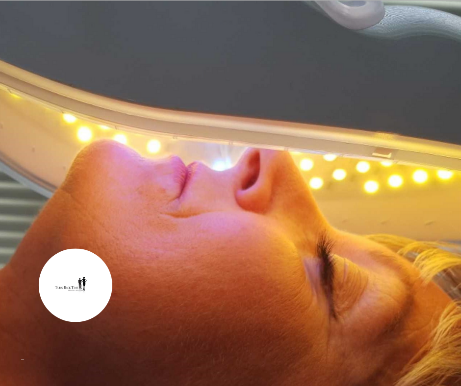LED Therapy at Turn Back Time Beauty
