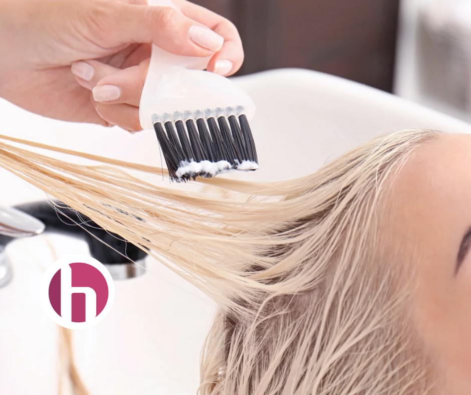 Half-head foils at Holland Hair