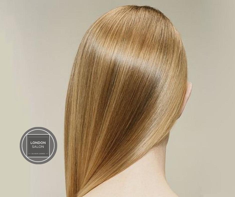 LONG HAIR Keratin Smoothing Treatment