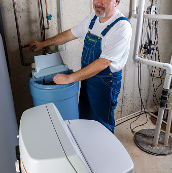 Checking Water softeners could save money… and our rivers!