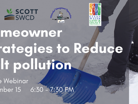 SWCD Webinar Announcement: How to use Less Salt