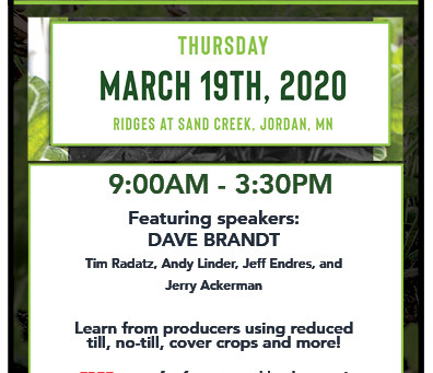 Upcoming Cover Crop Events