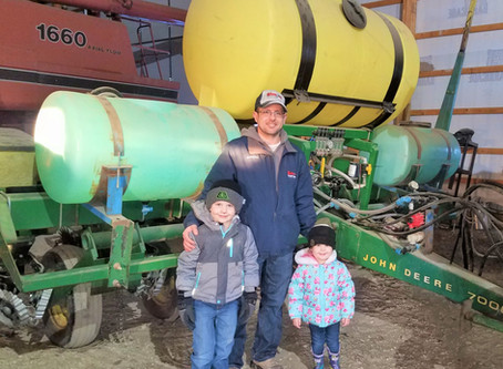 Landowner spotlight: Adam Simon devises no-till planter to keep soil in place