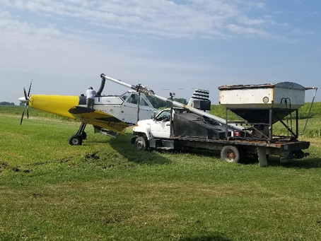 Sign up for Cover Crop Aerial Seeing by August 1