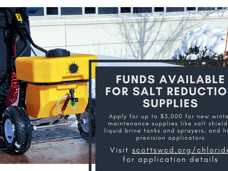 Funds Available for Salt Reduction Supplies